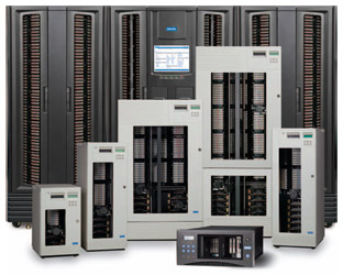 Qualstar XLS, TLS and RLS Series Tape Library Systems